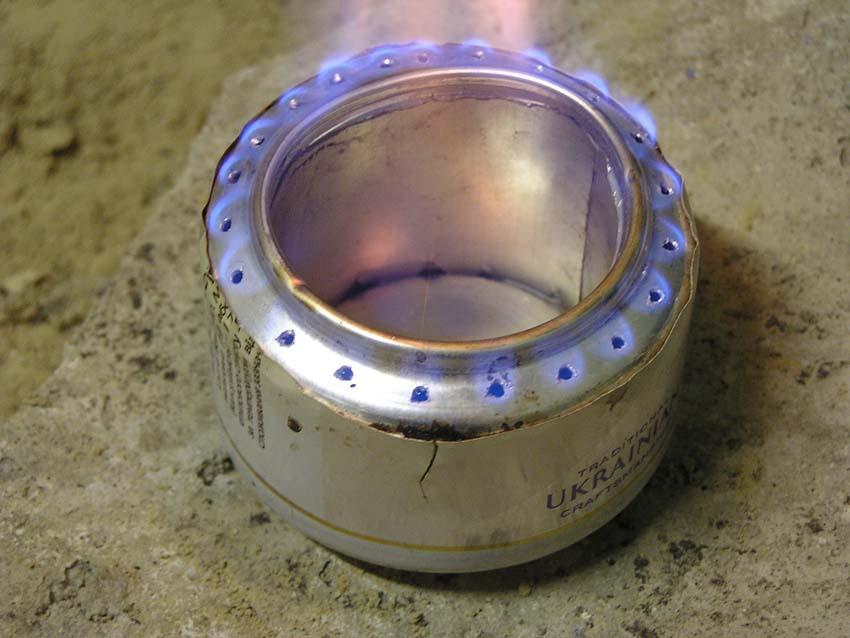 Как сделать горелку своими руками из консервной банки 75